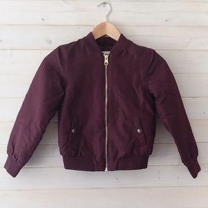 5/$25 maroon H&M puffy winter jacket
